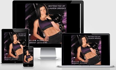 Kettlebell based Strength and Fat Loss Workouts available for Streaming and Download.