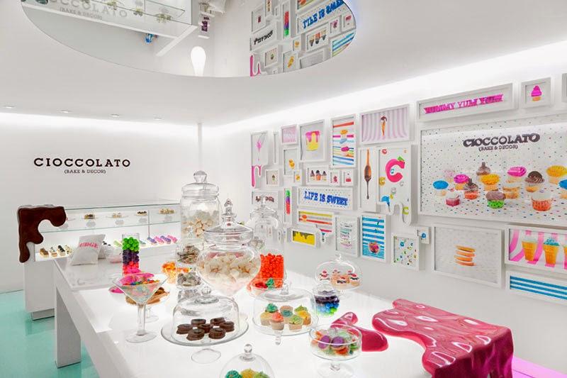 Creativos diseños de tiendas