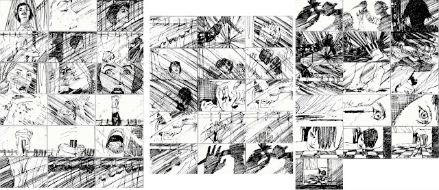 Storyboard- Psycho - Shower Scene