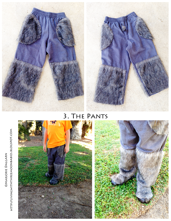 living with ThreeMoonBabies | Satyr Costume: the pants