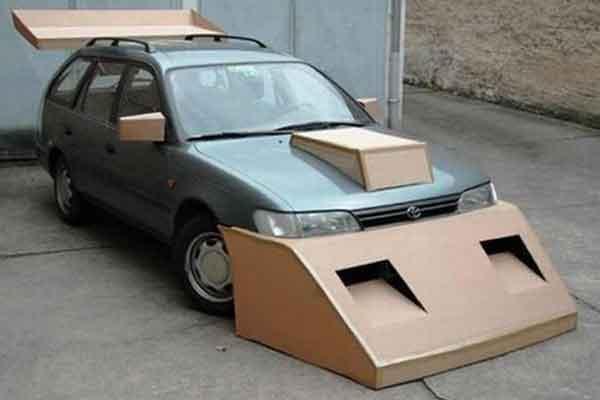 SPOILER kereta menarik