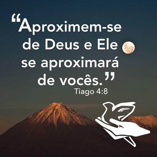 Deus está presente, aproxime-se dele!