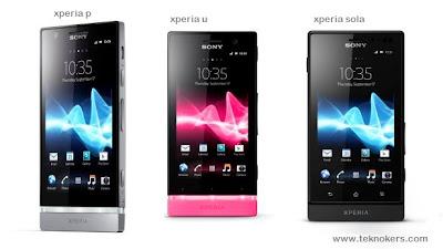 daftar harga handphone xperia terbaru, harga xperia u, harga xperia p, harga xperia sola, spesifikasi hp xperia