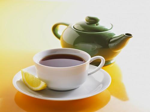 Chá-verde digestivo
