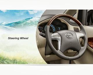 steering wheel innova