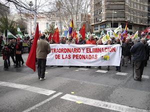 Manifestación del día 28 de febrero del 2013 en Jaén