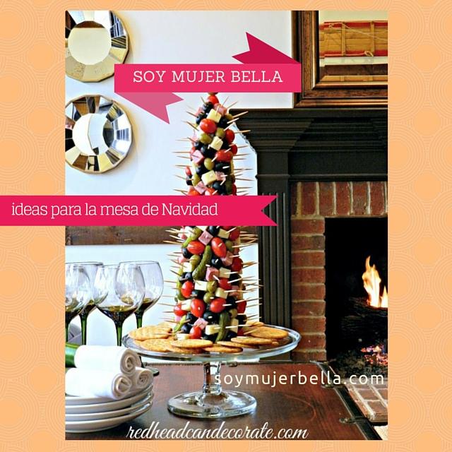 las mejores decoraciones navideñas con comida