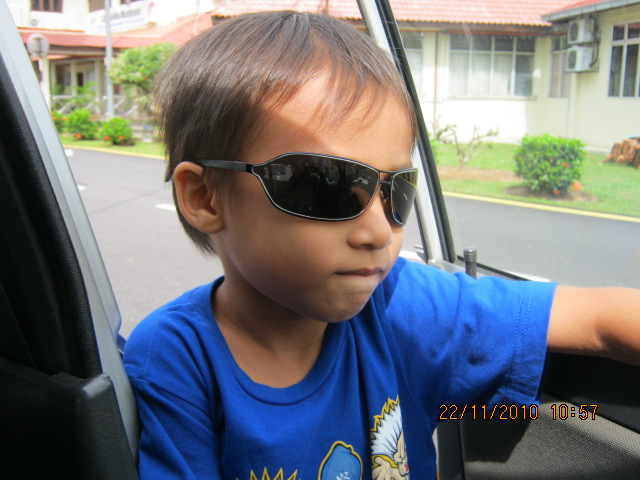 happy birthday afiq (7tahun) 2011