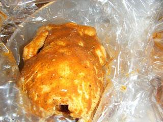 طريقة دجاج مشوي بالفرن رزأبيض