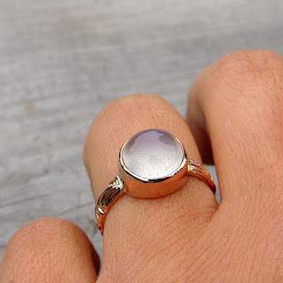 moonstone rose gold