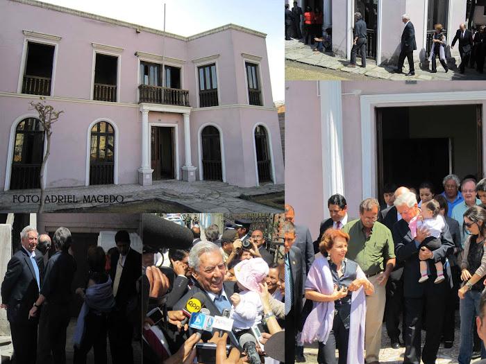 Casa donde nació Mario Vargas Llosa