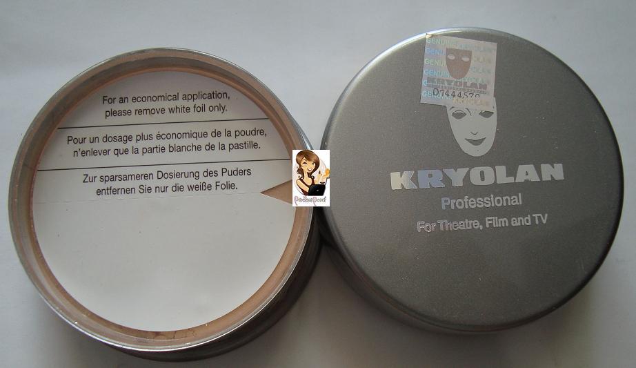 preciouspearlmakeup: Krylon Professional Translucent Powder