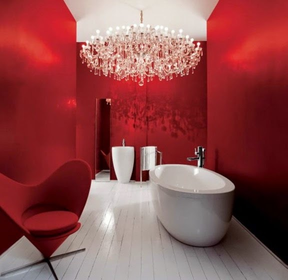 25 cool bathroom lighting ideas and ceiling lights luxury bathroom lighting ideas luxury chandelier for small bathrooms mozeypictures Gallery