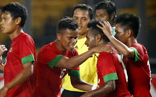 Timnas U-23 akhirnya menang atas Malaysia