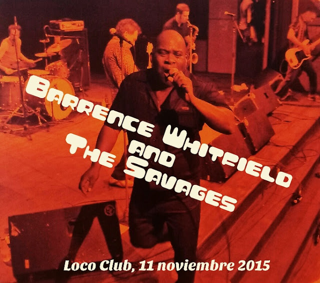 Crónica BARRENCE WHITFIELD en el Loco Club (11-11-15)