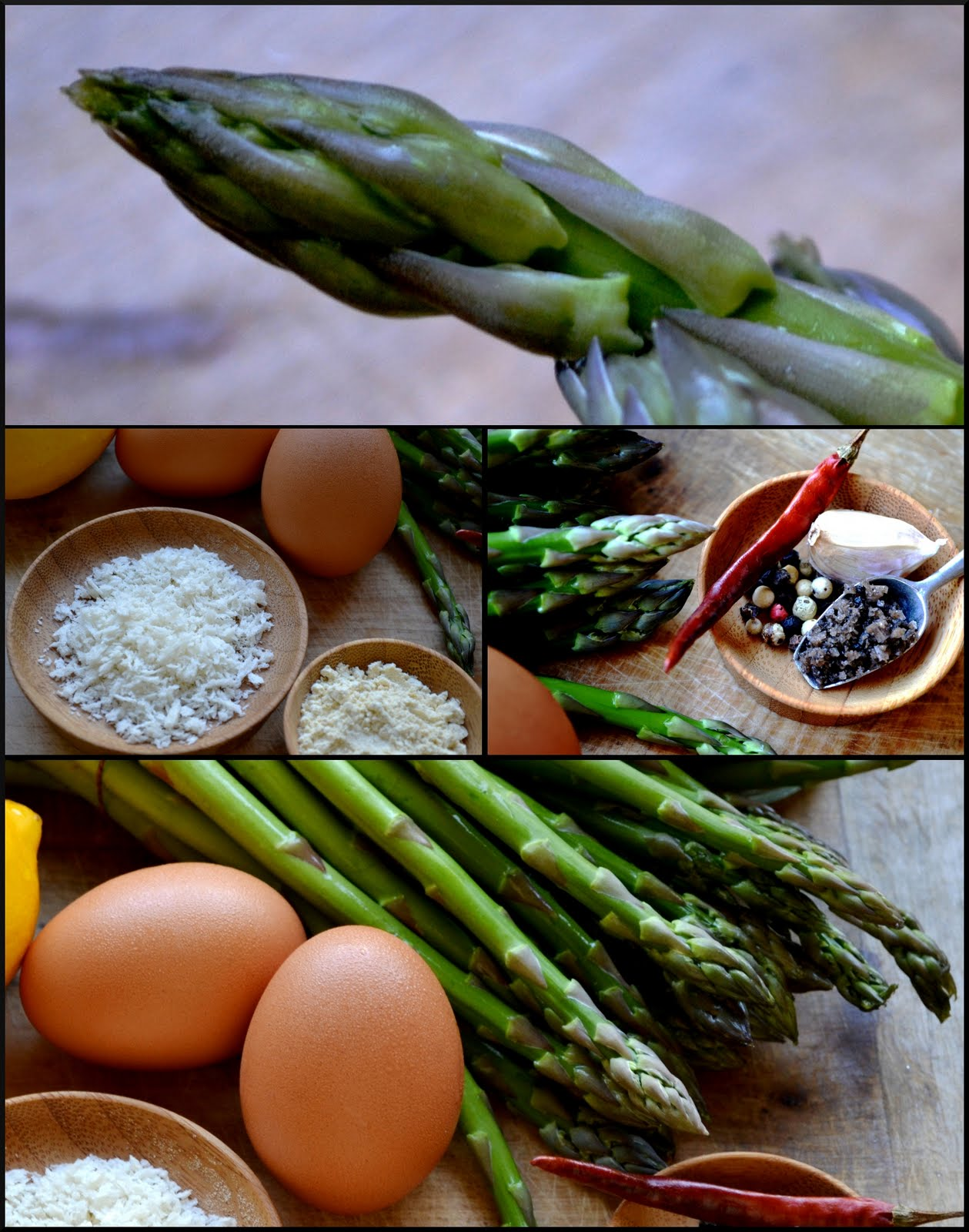 The Ardent Epicure: What's on the side? Baked Asparagus Fries