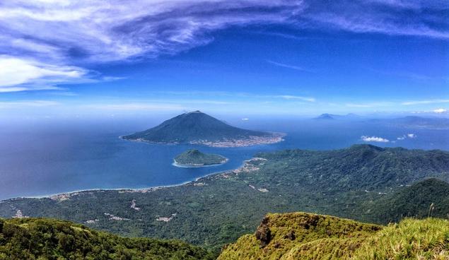 Mendaki Puncak Kie Matubu / Gunung Tidore - Wisata Alam Maluku Utara