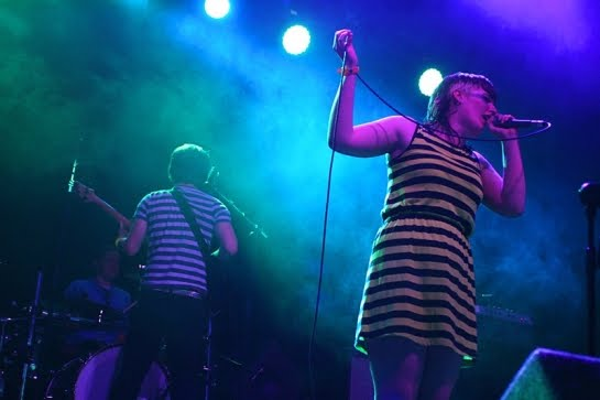 Bamboo Party: punk\post-punk quintet from Dublin, Ireland played in E111 of the ArenaCast