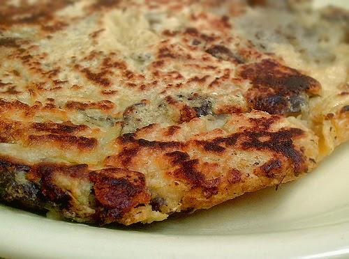 Street food cuisine du monde recette de tortilla aux aubergines vegan sans gluten espagne - Cuisiner aubergine rapide ...