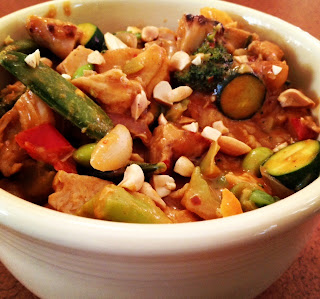 Thai Peanut Stir Fry Recipe