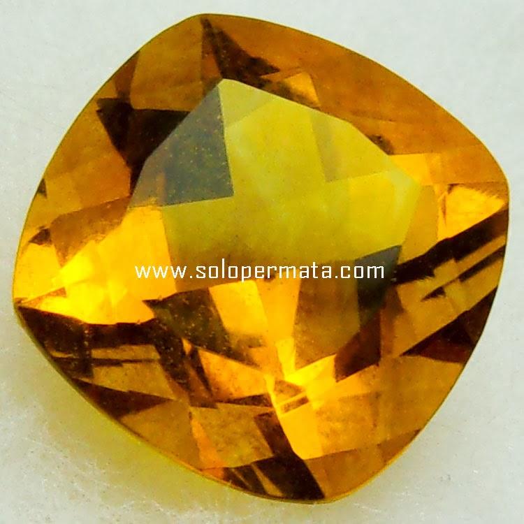 Batu Permata Golden Citrine - 22A07