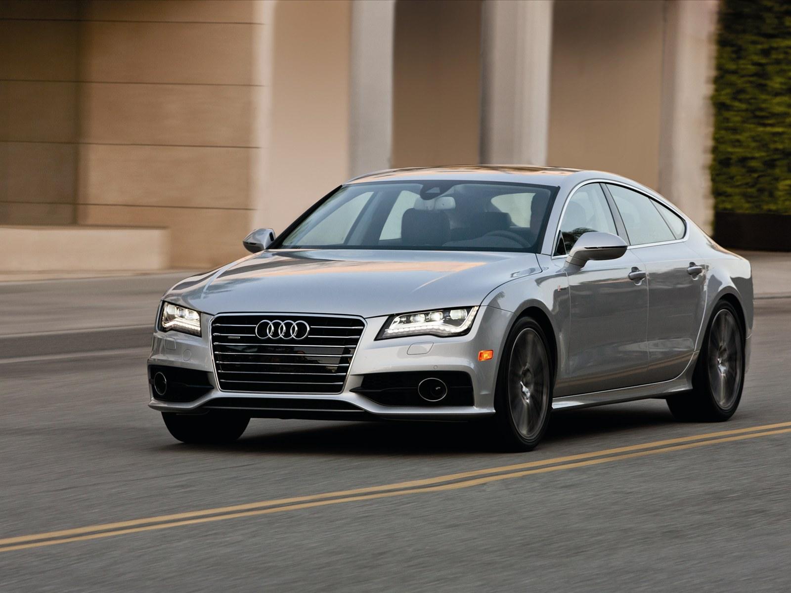 Car Pictures Audi A7 2012