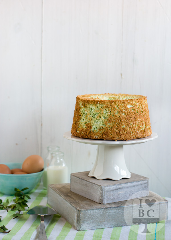Mint Angel Food Cake