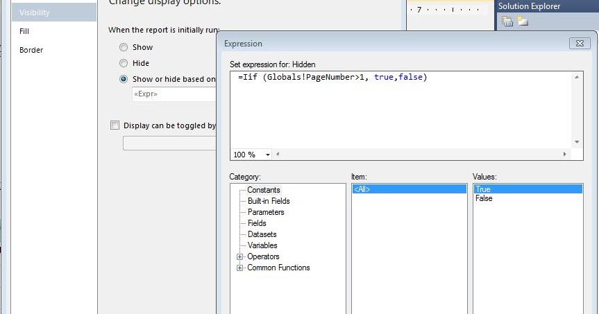 Sharpsys software solutions show or hide the header in for Hide tr in table