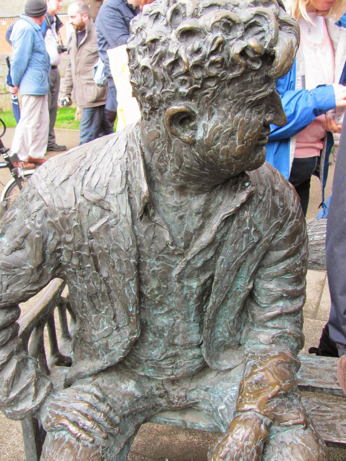 Brendan Behan Statue Dublin
