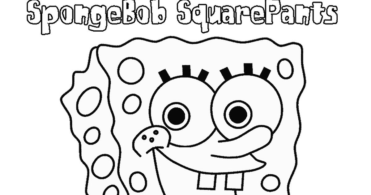 belajar mewarnai untuk anak anak gambar kartun spongebob