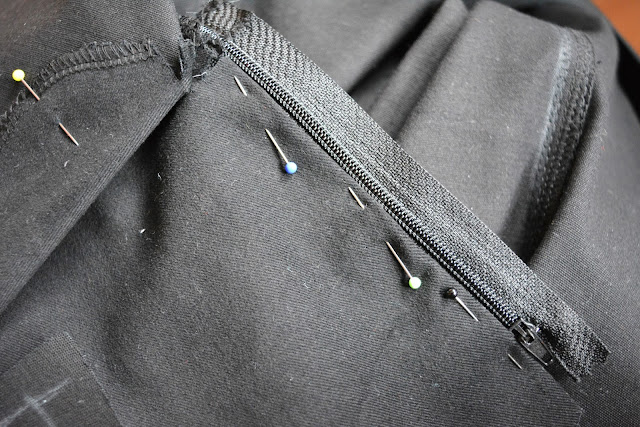 [Nähen] WIP - Hosen Reißverschluss