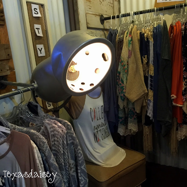You have got to see this cool store...nothing is safe from becoming a light...Ballyhoo