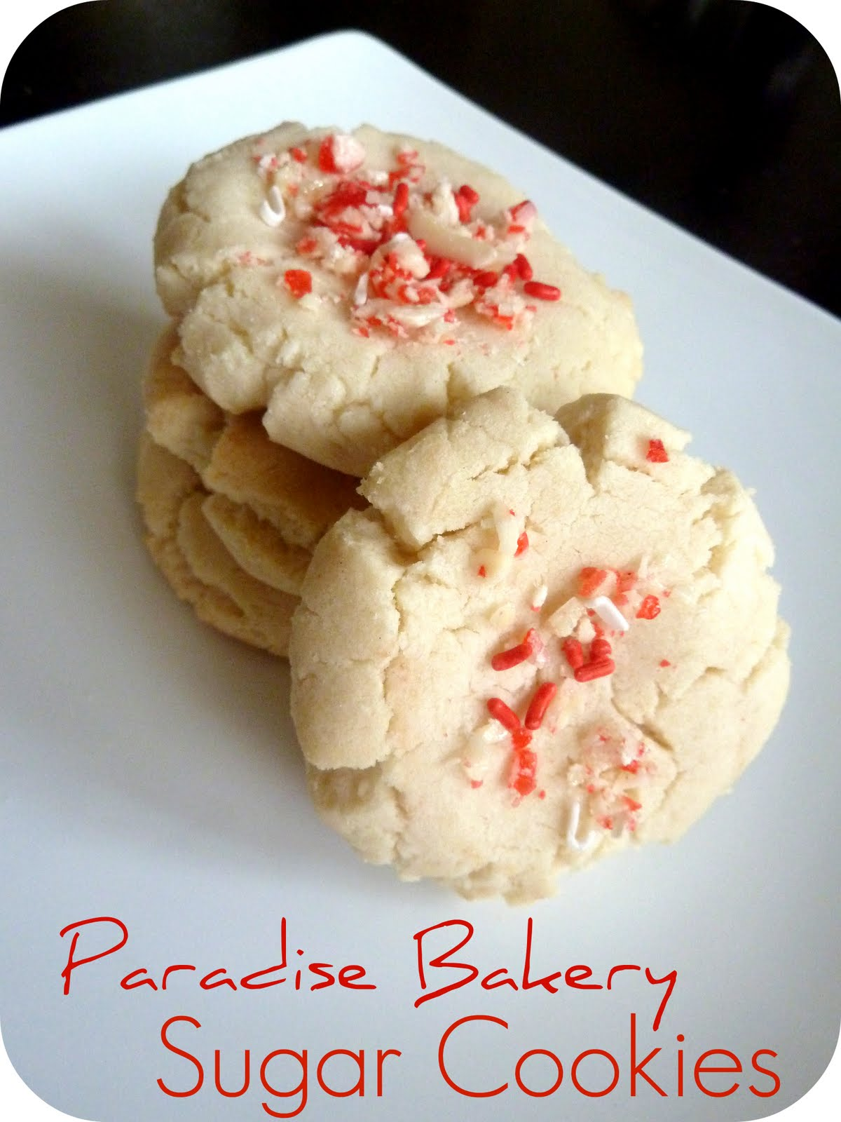 Sugar cookie recipes with shortening