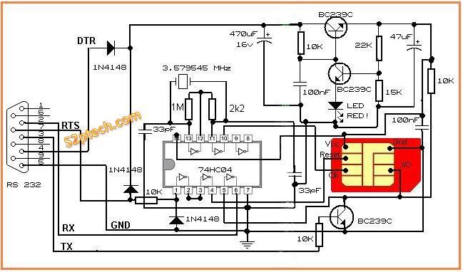 Sim Card Reader Diagram Diy Wiring Diagrams