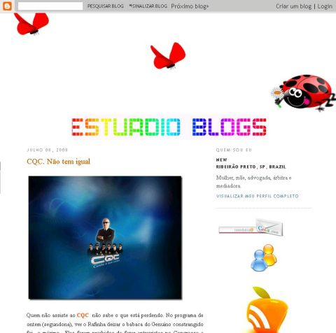 Visite Estúrdio Blog's New