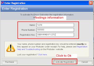 proshow gold registration key 9.0