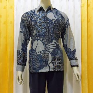 Foto Baju Batik Lengan Panjang Pekalongan