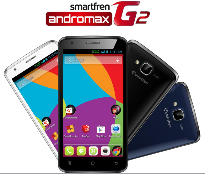 Review Spesifikasi dan Harga Smartfren Andromax G2