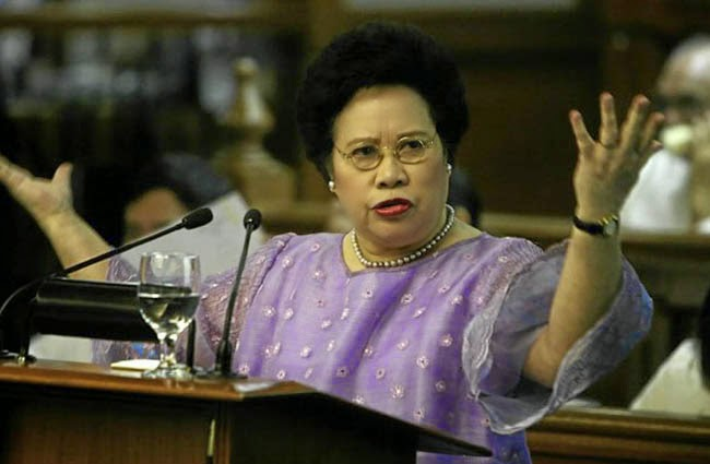 Senator Miriam Defensor Santiago's Lung Cancer Diagnosis makes Her to Resigned as Judge of the International Criminal Court