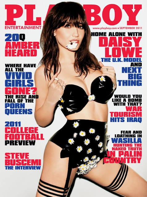 Revista: Playboy USA - Daisy Lowe [PDF | 108.03 MB]