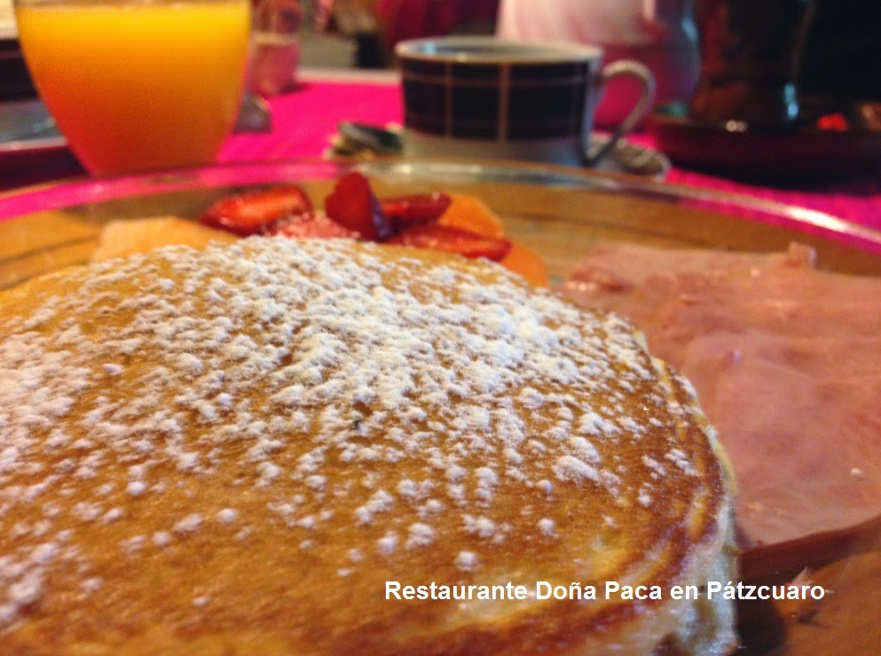 Breakfast in Patzcuaro at Doña Paca Restaurant