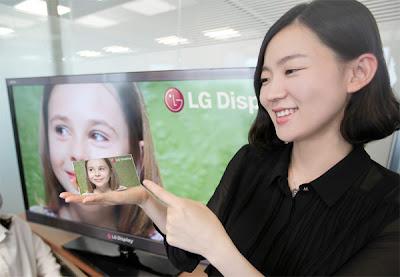 LG apresenta tela de LCD de 5 polegadas e resolução FullHD