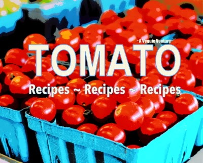 Tired of the same-old sliced tomatoes? Find new inspiration in this collection of seasonal Tomato Recipes @ AVeggieVenture.com, savory to sweet, salad to soup, sides to sandwiches, breakfast to dinner. Many Weight Watchers, vegan, gluten-free, low-carb, paleo, whole30 recipes.