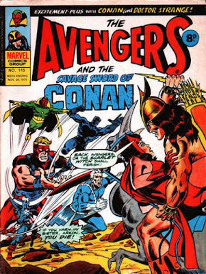 Marvel UK, Avengers #115, Arkon