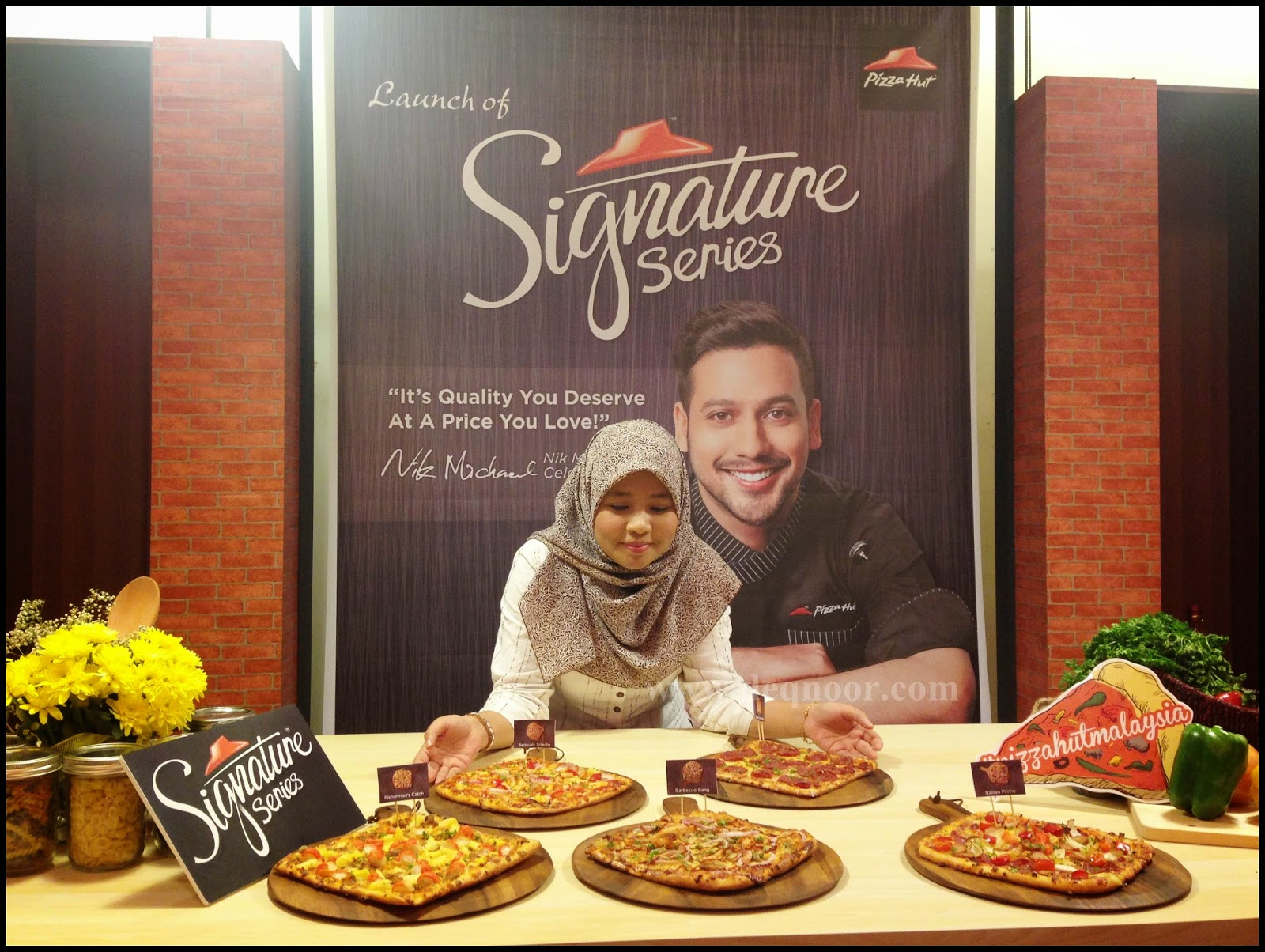 Launch of Signature Series Pizza Hut