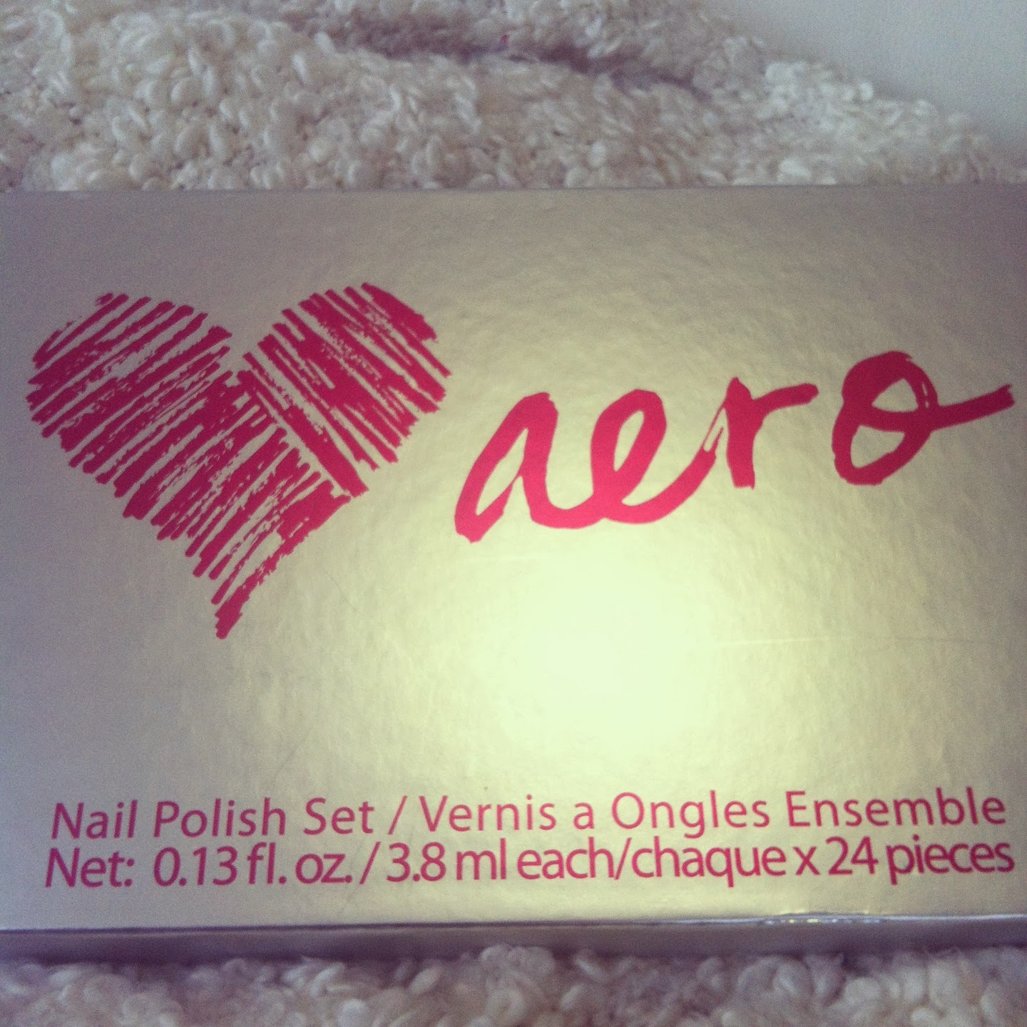 nail polish set aeropostale