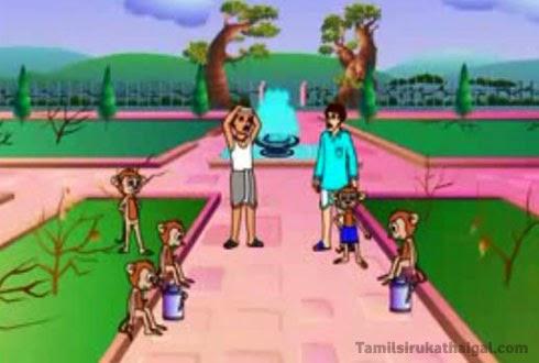 The Gardener and the Monkeys 4