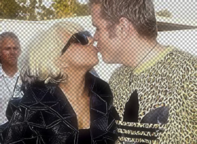 Gaga perez kiss