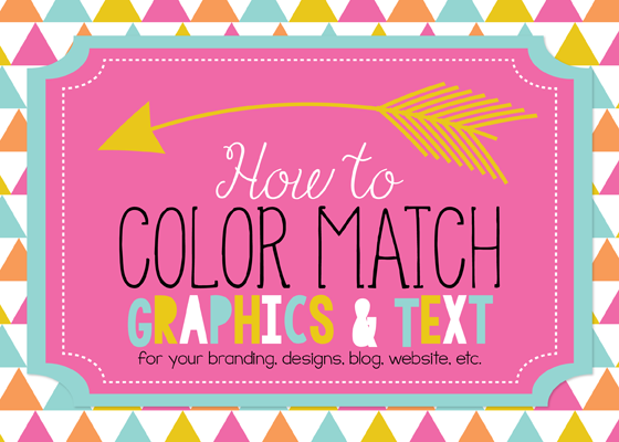 Erin bradley designs tutorial how to color match outside - Which color matches with pink ...