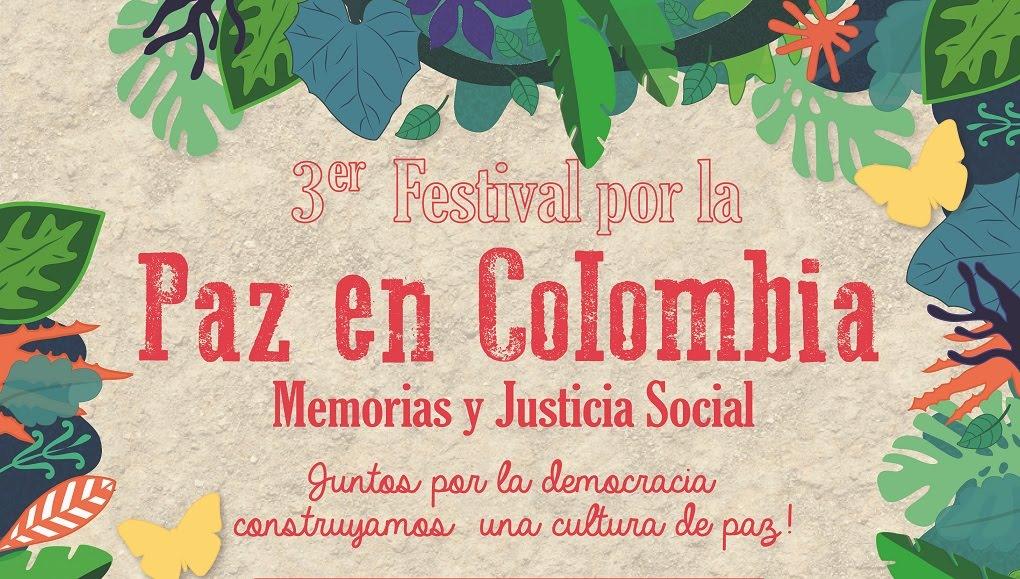 Festival por la paz en Colombia